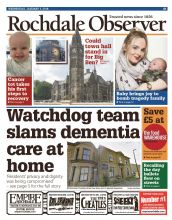Rochdale Observer Wednesday  Edition Subscription
